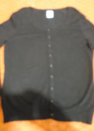 Черная кофта vero moda на пуговичках