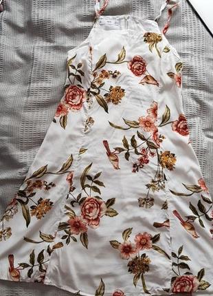 Легка літня сукня mango3 фото