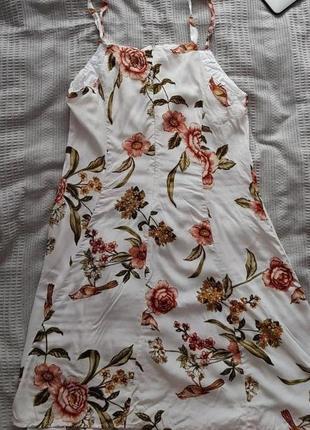 Легка літня сукня mango4 фото