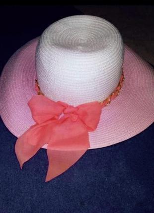 Летняя шляпка капелюшок женский