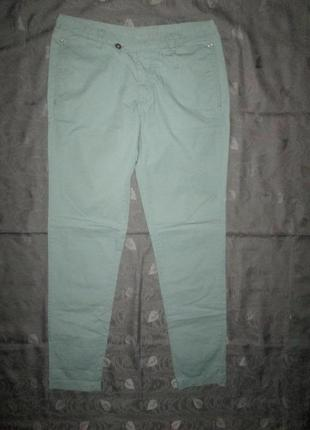 Легкие мятные брюки diesel штаны чиносы оригинал р. m - l