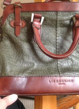 Немецкая кожаная сумка liebeskind berlin2 фото