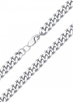Серебряный браслет панцирное плетение 925 проба