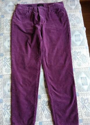 Красивые вельветовые штаны