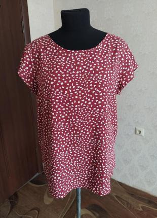 Вискозная блуза 48-52 размер