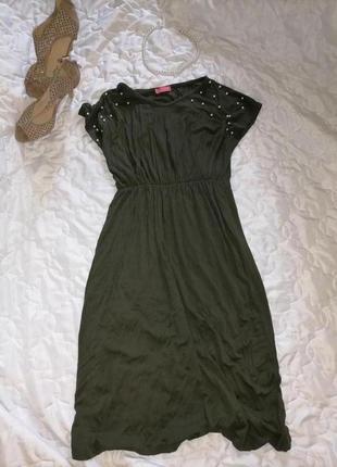 Платье с жемчугом