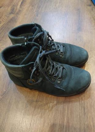 Ботинки зимние нубук