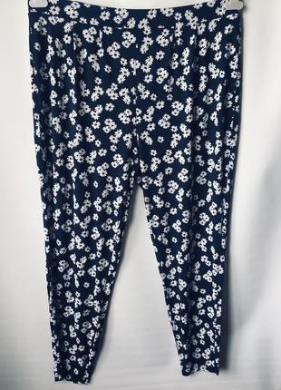 Натуральные штаны большого размера1 фото