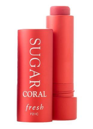 Fresh tinted lip treatment sunscreen spf 15 оттеночный бальзам для губ, 2,2 гр.