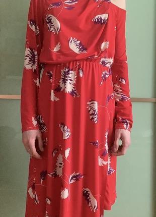 Червона сукня плаття by very p.121 фото