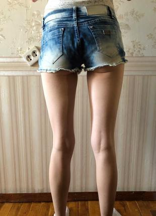 Джинсовые шорты (джинс)3 фото