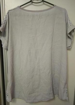 Блуза, футболка, италия, размер 563 фото