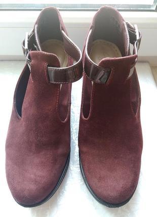 Элегантные ботинки clarks3 фото
