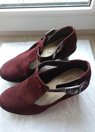 Элегантные ботинки clarks5 фото