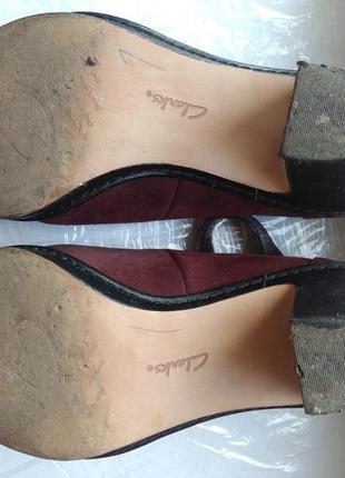 Элегантные ботинки clarks4 фото