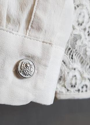 Роскошная шелковая блуза блузка the kooples(zadig)7 фото