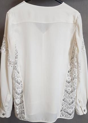 Роскошная шелковая блуза блузка the kooples(zadig)2 фото