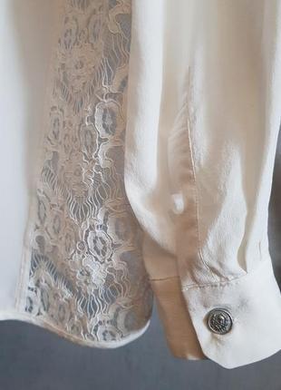 Роскошная шелковая блуза блузка the kooples(zadig)5 фото