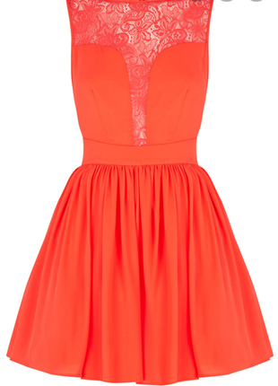 Коктейльное летнее платье