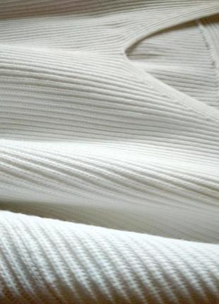Оверсайз белый котоновый летний  свитшот white label3 фото
