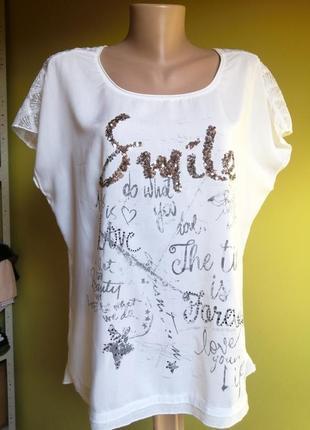 Стильна жіноча футболка tregy німеччина1 фото