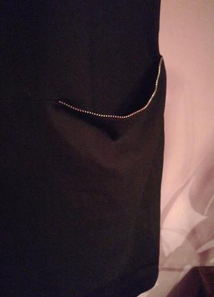 Платье с цепью3 фото