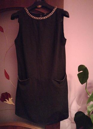 Платье с цепью4 фото