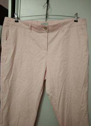 Укороченный брючки, штаны,  размер 54-562 фото