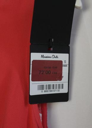 Massimo dutti новое платье сарафан с ажурной вышитой спиной вискоза натуральное7 фото