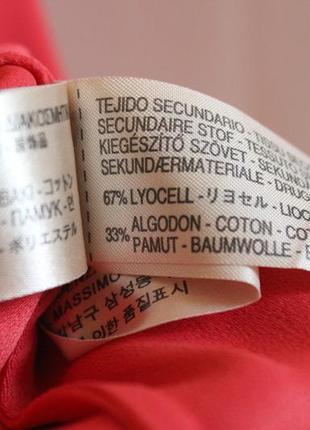 Massimo dutti новое платье сарафан с ажурной вышитой спиной вискоза натуральное10 фото
