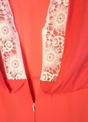 Massimo dutti новое платье сарафан с ажурной вышитой спиной вискоза натуральное4 фото