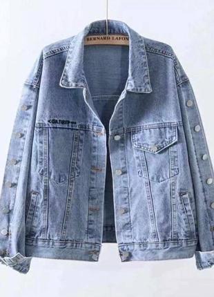 Куртка джинсовка6 фото