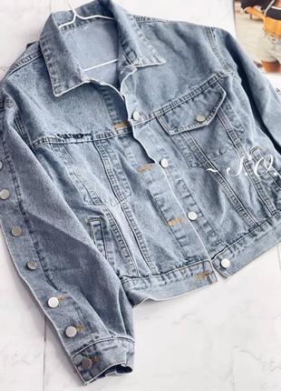 Куртка джинсовка5 фото