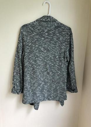 Классический пиджак прямого кроя піджак вільного крою накидка з підкладкою6 фото