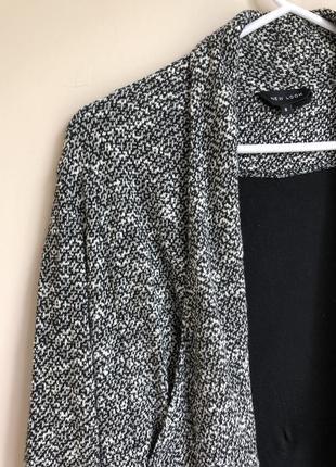 Классический пиджак прямого кроя піджак вільного крою накидка з підкладкою3 фото