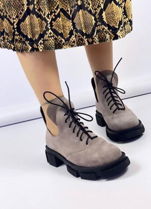 Ботинки 55601 фото