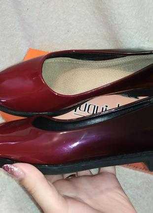 Лаковые туфли1 фото