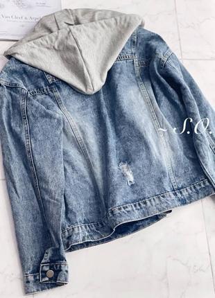 Куртка джинсовка4 фото