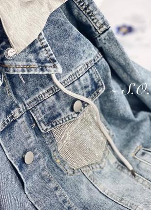Куртка джинсовка2 фото