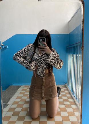 Вельветовая юбка7 фото