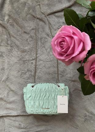 Ніжна сумочка bershka! оригінальна модель!3 фото