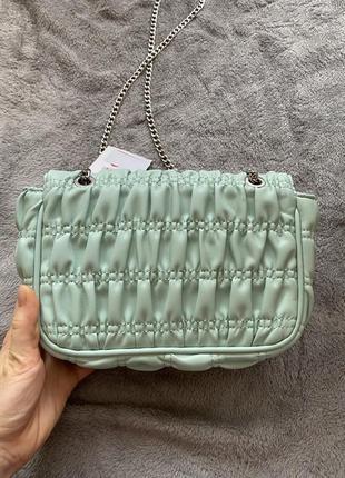 Ніжна сумочка bershka! оригінальна модель!5 фото