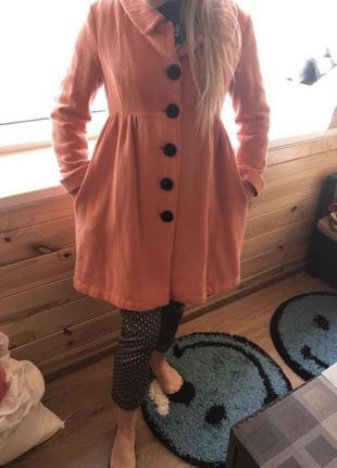 Пальто 🧥 с крупными пуговицами2 фото