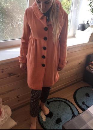 Пальто 🧥 с крупными пуговицами3 фото