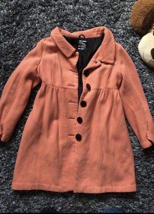 Пальто 🧥 с крупными пуговицами