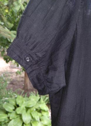Красивая хлопковая/шелковая блузка/рубашка oasis (хлопок, шёлк)9 фото