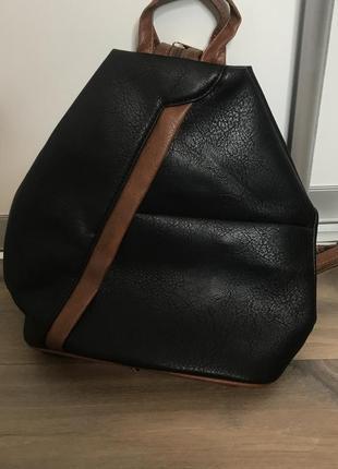 Сумка рюкзак еко шкіра1 фото