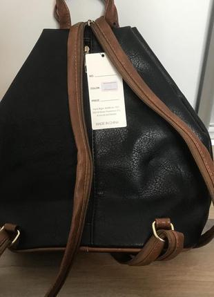 Сумка рюкзак еко шкіра2 фото
