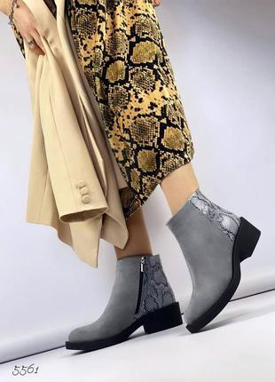 Ботинки 55614 фото