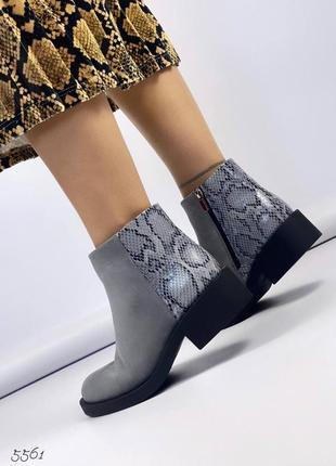Ботинки 55615 фото